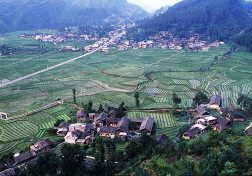贵州农村田园风景图片